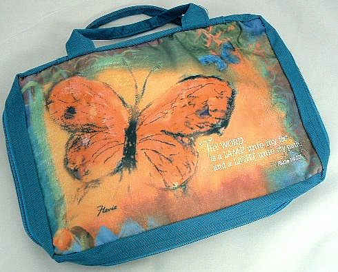Kids Butterfly Bible Cover