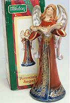 Choir Angel Holiday Figurinene