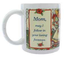 Mom Loving Footsteps Mug