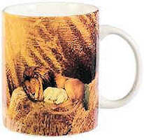 Lion of Judah Mug Colorful