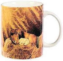 Lion of Judah Mug Colorful