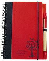 Eco-Friendly NoteBook With Bible Quote