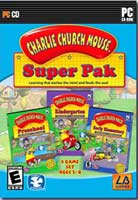 Charlie Church Mouse Learning Adventure Superpack PC CD-ROM Game