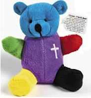 Colors Of  Salvation Bear Plush Velour