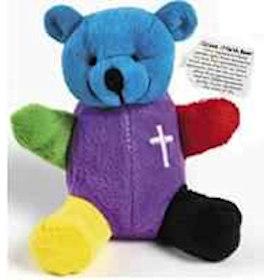Colors Of  Salvation Bear Plush Velour