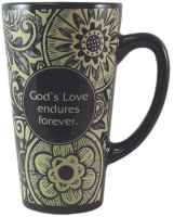 God's Love Endures Latte Mug