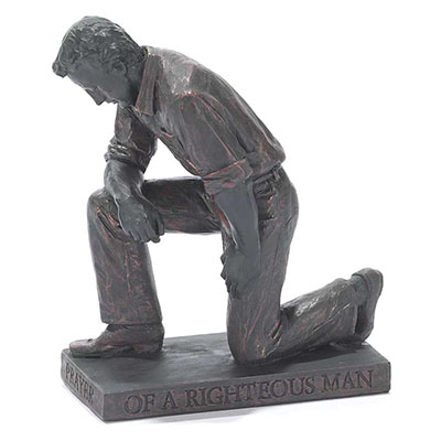 Called to Pray Man Statue