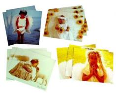Cute Angelic 12 Note Cards