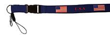 USA Flag Patriotic Laynard