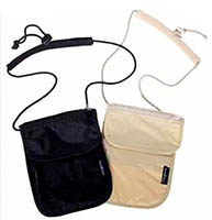 Travelers Security Underclothing Neck Wallet