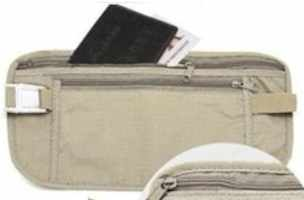 Travelers Security Waist Wallet