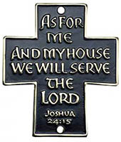 As For Me We Will Serve the Lord Sign