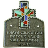 I Have Called You By Your Name Plate