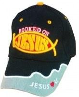 Cap- Hooked on Jesus