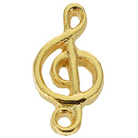 Gold Plated G-Clef Lapel Pin Music