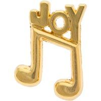 Joy of Music Lapel Pin Gold - Music Lovers