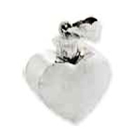 Sterling Silver Hollow Heart Container
