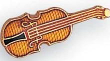 Violin Lapel Pin
