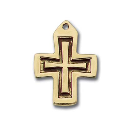 Bronze Spirit Dove Confirmation Necklace