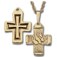 Confirmation Necklace Words Spirit