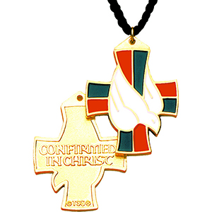 Confirmation in Christ Necklace Gold