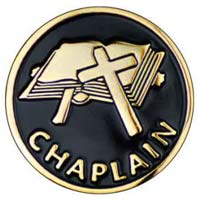 Gold Chaplains Pin