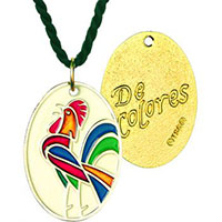 De Colores Bronze Necklace
