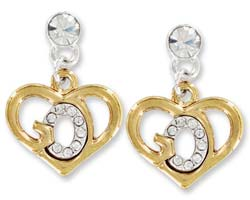 God's Heart Earrings Gold