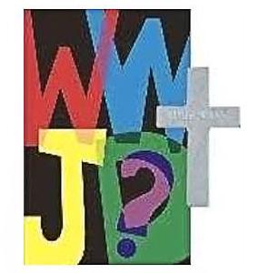 WWJD Metal Pocket  Cross and Card (Pkg of 50)