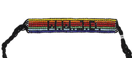 WWJD Beaded Bracelet