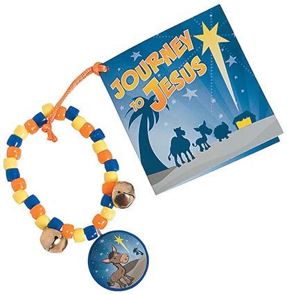 Journey To Jesus Bracelet Craft Kits (Pkg of 12)