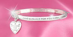 I Said a Prayer For You Today Bracelet