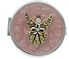 Angel Pill Box Key Chain