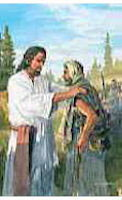 Jesus Comforting PostCards