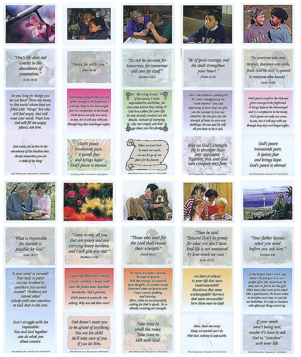 God's Promise Leaflets - Comfort, Sympathy Witness (Pkg of 100)