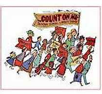 Count On Me Church Enrollment Theme Poster
