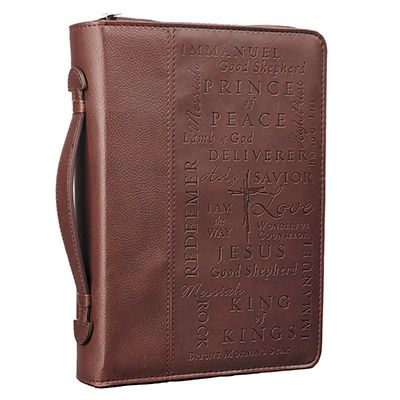 Names of Jesus Bible Cover angled