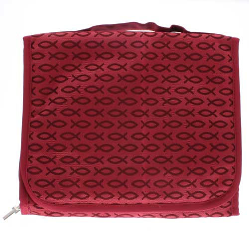 Red Fish Three-Fold Bible Cover