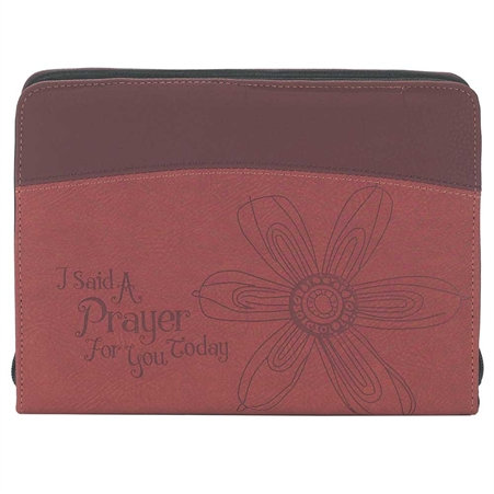 I Said a Prayer for You Bible Cover Clutch Style