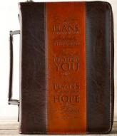 I Know the Plans LuxLeather Bible Cover