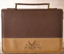 On Wings Like Eagles LuxLeather Bible Cover