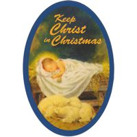 3459 Keep Christ in Christmas Magnet