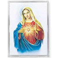 Immaculate Heart Acrylic Easel with Magnet