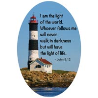 Light of the World Lighthouse Magnet