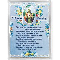 A House Blessing Acrylic Easel with Magnet