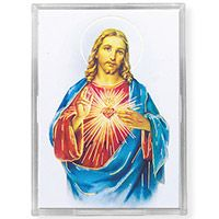 Sacred Heart Acrylic Easel with Magnet