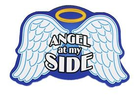Angel at My Side Angel Wings Magnet