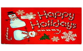 11 Christmas Holiday Magnets Collection