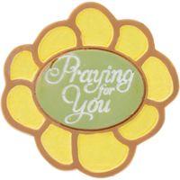 I Said A Prayer For You Flower Magnet Set of 4