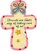 Friends Resin Cross Magnets